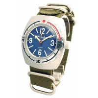 Mechanical automatic watch Vostok Amphibia 200m 2415/090914