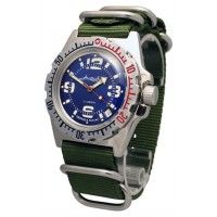 Mechanical automatic watch Vostok Ampibia 200m 2416/110902
