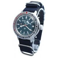 Mechanical automatic watch Vostok Ampibia 200m 2416/420059