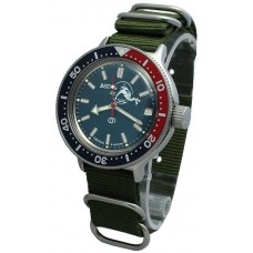 Mechanical automatic watch Vostok Ampibia 200m 2416/420059