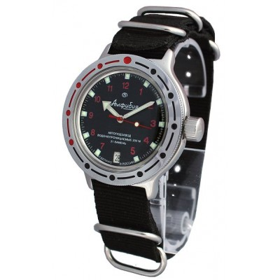 Mechanical automatic watch Vostok Ampibia 200m 2416/420280