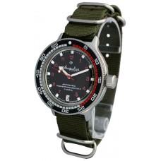 Mechanical automatic watch Vostok Ampibia 200m 2416/420280