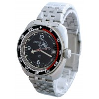 Mechanical automatic watch Vostok Ampibia 200m 2416/710634