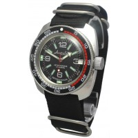 Mechanical automatic watch Vostok Ampibia 200m 2416/710640
