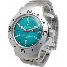 Mechanical automatic watch Vostok Ampibia 200m 2416/060282