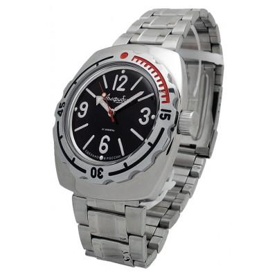 Mechanical automatic watch Vostok Ampibia 200m 2415/090913