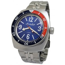 Mechanical automatic watch Vostok Ampibia 200m 2415/090914