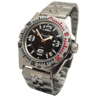 Mechanical automatic watch Vostok Ampibia 200m 2416/110903
