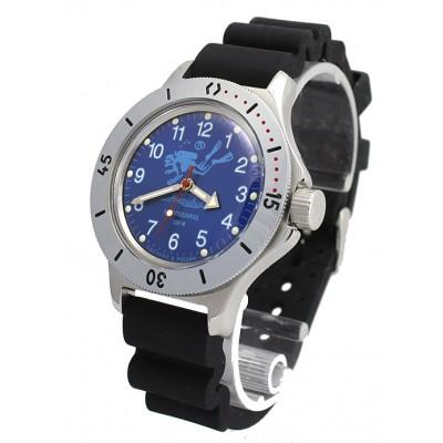 Mechanical automatic watch Vostok Ampibia 200m 2415/120656
