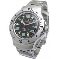 Mechanical automatic watch Vostok Ampibia 200m 2416/060334