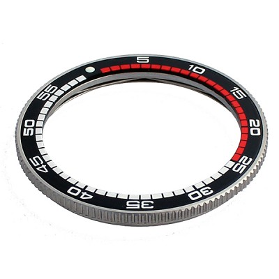 Stainless steel bezel with SEIKO insert  bbrs