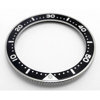 Stainless steel bezel with SEIKO insert bbs