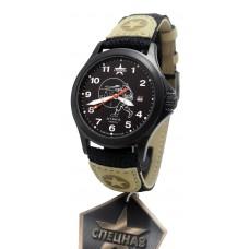 """military quartz watch SPECNAZ """" ATTACK"""" С2104253-2115-09"""