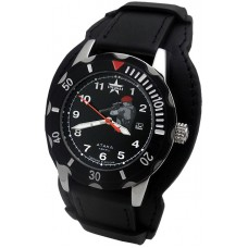 "military quartz watch SPECNAZ "" ATTACK"" C2130265-05H"