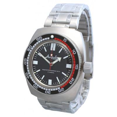 Mechanical automatic watch Vostok Ampibia 200m 2415/090916