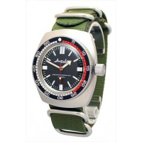 Mechanical automatic watch Vostok Ampibia 200m 2415/090916