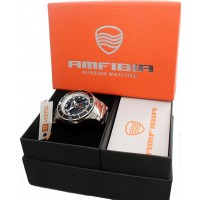 BLACK SEA VOSTOK AUTOMATIC MECHANICAL WATCH! AMPHIBIA 200m! NEW! 2415.01/440793