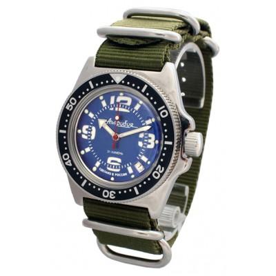 Mechanical automatic watch Vostok Ampibia 200m 2416/110902