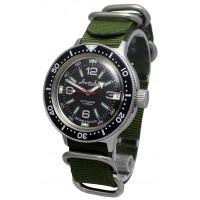 Mechanical automatic watch Vostok Ampibia 200m 2416/420640