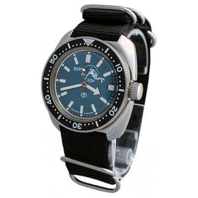 Mechanical automatic watch Vostok Ampibia 200m 2416/710059