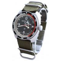 Mechanical automatic watch Vostok Ampibia 200m 2416/710634