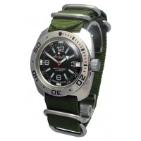Mechanical automatic watch Vostok Ampibia 200m 2416/710640