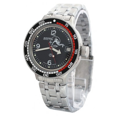 Mechanical automatic watch Vostok Ampibia 200m 2416/420634