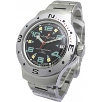 Mechanical automatic watch Vostok Ampibia 200m 2416/060334