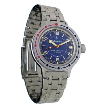 Mechanical automatic watch Vostok Ampibia 200m 2416/420007