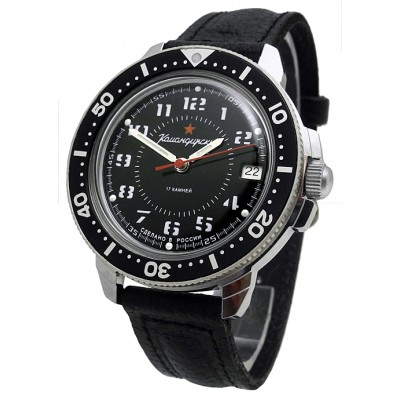 Komandirskie Vostok mechanical watch 2414/431186