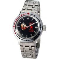 Mechanical automatic watch Vostok Ampibia 200m 2416/420457